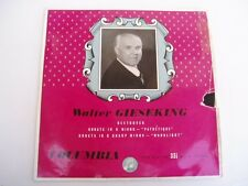 Gieseking - Beethoven - Pathetique - RARE LP