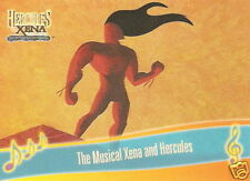 The Musical Hercules and Xena  M2 Across the Sea of Time insert trading card