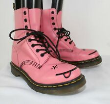 Dr. Martens 1460 8-Eye Pink Boots Ladies Size US 8/ UK 6