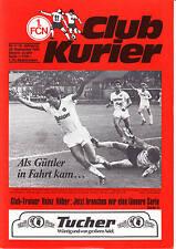 II BL 84/85 1. FC Norimberga - 1. FC Saarbrücken, 28.09.1984