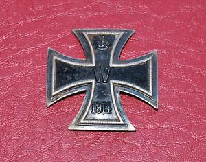 Original WW1 Imperial German Iron Cross Badge 800 Silver - Missing Pin