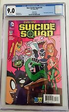 New Suicide Squad #10 CGC 9.0 (VF/NM) -Teen Titans Go Variant Cover First Print!