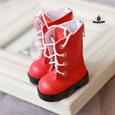 1/6 BJD Shoes Yosd Boots Dollfie DREAM DOD SOOM MID Luts Dollmore AOD Shoes #Red