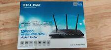 TP-LINK Archer VR400 300Mbps 6 Port Wireless Modem Router