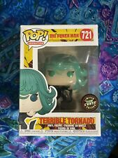 Funko Pop Terrible Tornado One Punch Man Animation GITD Chase Figure In Hand