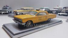 KESS MODEL 1/43 Chevrolet  Biscayne NYC Taxi New York 1963 Art. KE43027012