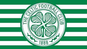 Celtic football flag 5ft x 3ft .
