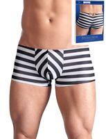 1318979 Push-Up Hipster Pants Streifen Handschellen hinten 2-farbig in S-2XL