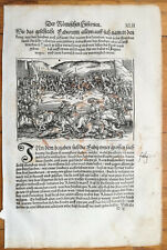 Livius History of Rome Post Incunable Woodcut Schoeffer (42) - 1530