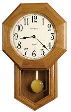 "625-242 HOWARD MILLER TRIPLE-CHIME WALL CLOCK ""ELLIOT"""