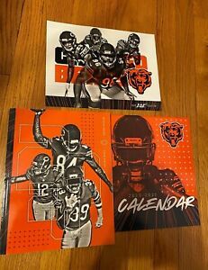 CHICAGO BEARS  * 2020 YEARBOOK *  STH Giveaway * 2020-2021 Calendar