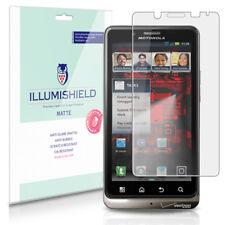 iLLumiShield Anti-Glare Matte Screen Protector 3x for Motorola DROID BIONIC