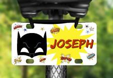 BATMAN MASK MINI LICENSE PLATE #4 Name Personalized for Kids Bikes WagonS Wall