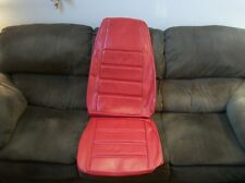 71 72 73 FORD MUSTANG COUPE VERMILLION RED STANDARD FRONT BUCKET SEAT UPHOLSTERY