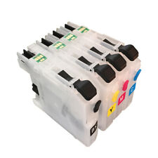 Refillable Ink Cartridge for Brother LC123 LC127 LC121 LC129 for Europe printer