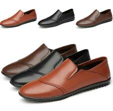 Men's Slip on Driving Moccasin Flats Soft Breathable Leisure Pumps Loafers Shoes
