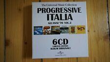 Progressive Italia Gli Ann 70 Vol.2 6 CD Box Set