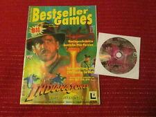 PC CD - Bestseller Games: Indiana Jones and the Fate of Atlantis - mit Heft