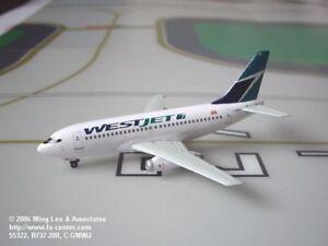 Dragon Wings Werstjet Canada Boeing 737-200 in Old Color Diecast Model 1:400