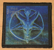 """VITAL REMAINS """"FOREVER UNDERGROUND"""" silk screen PATCH"""