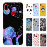 For Huawei P Smart 2019 P30 P20 Pro P9 Lite Silicone Painted Soft TPU Case Cover