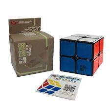 YJ YuPo Plus 2x2 Upgraded Version Speed Rubik's Cube Black