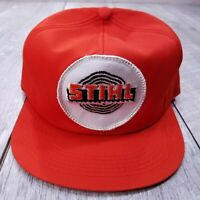 Vintage STIHL Chainsaw Blade Patch Trucker Hat Cap Snapback K-Brand KBrand