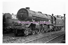 bb0988 - LMS Railway Engine 6210 at Chester North in 1948 - photograph