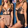 Women Sexy Lingerie Lace Underwear Bodysuit Dress Sleepwear Pajama Set Nightgown