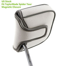 Square Mallet Putter Cover Golf Headcover For TaylorMade Spider Tour Magnet Hot