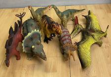 Vintage Large Dinosaur Bundle Joblot T Rex Triceratops Stegosaurus Brachiosaurus