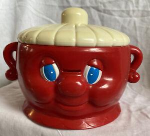 Vintage HAPPY FACE Dish Toy 1983 Meritus Industries, Rare