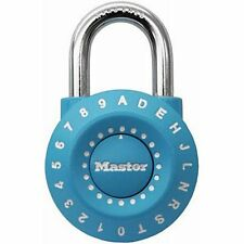 Master Lock 1590D Set Your Own Combination Lock, Assorted Colors