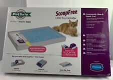 Pet Safe Scoop Free Blue Disposable Crystal Litter Tray Refill 1 Tray