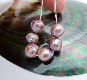 RARE ALL NEW AA+ FRESHWATER EDISON HIGH GRADE CULTURED PEARLS - RICH COLORS