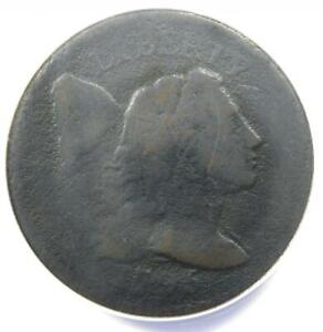 1795 Liberty Cap Large Cent 1C Coin - Certified ANACS VG8 Details - Rare Coin!