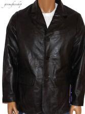 Abrigos y chaquetas de hombre negro talla M de piel