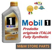 Mobil 1 0W40 NEW LIFE MERCEDES VW BMW OPEL PORSCHE ORIGINALE FULLY SYNTHETIC