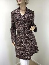 Polyester Animal Print Trench Coats & Jackets for Women