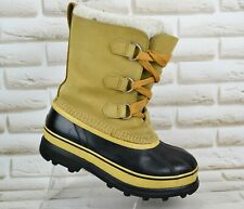 SOREL CARIBOU Womens Outdoor Winter Snow Waterproof Boots Size 5.5 UK 38.5 EU