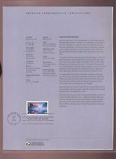 #C141 84c Yosemite National Park Airmail Stamp USPS #0609 Souvenir Page