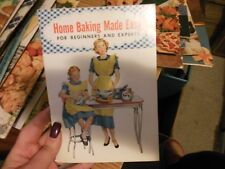 Vintage Spry Advertising Cook Book -- Home Baking Made Easy LN