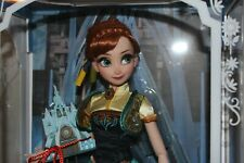 "Princess Anna 17"" Limited Edition Disney Store Doll Frozen Fever LE 5000 Elsa"