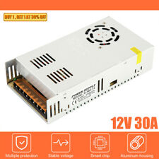 Ac 110 220v To Dc12v 30a 360w Switch Power Supply Driver Adapter For Led Strip