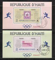 Haiti .Olympic Marathon Winners 1896-1968 Souvenir Sheet. Perforated MNH