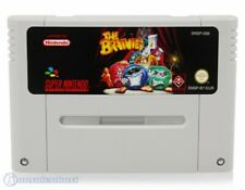 Nintendo SNES Spiel - The Brainies Modul