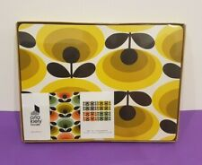 Orla kiely placemats (set of 4) 70's oval flower - Brand new last set