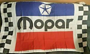 Mopar Racing Banner Flag 3x5 Ft