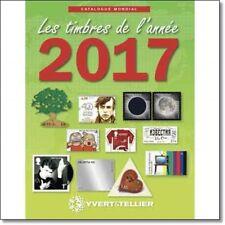 YVERT & TELLIER catalogo di tutti i francobolli del mondo emessi nel 2017