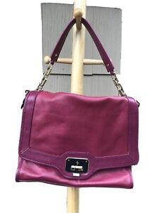 Cole Haan Fushia Messenger Shoulder Bag-Preowned but Unused